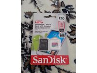 SanDisk Ultra 8GB SD with Adapter