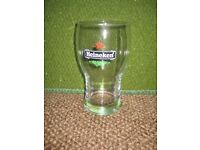 Heineken Celebratory Wider Than Usual Pint Glass for £3.00