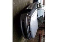 FRONT BUMPER - COMPLETE WITH FOG LIGHTS - PEUGEOT 306 MERIDIAN 2001 (SILVER BLUE)