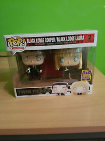 Twin Peaks Dale and Laura Exclusive POPS SDCC Funko 2017