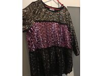 Sparkly sequinced top