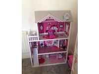 Dolls house and accessories