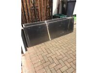 5 tinted polycarbonate sheets, £10