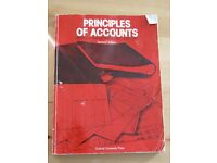 Academic text book: Principles of Accounts - second edition