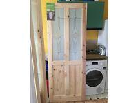 Pre-glazed internal door - still sealed in original packaging.