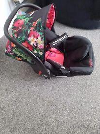Cosatto tropico car seat