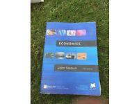 Textbook: Economics, John Sloman, 5th Edition
