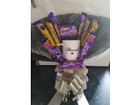 Personalised chocolate bouquets