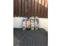 Mint skateboards all in working order £10 per board or £40 for all four