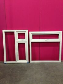 White/Mahogany Upvc windows for sale from £20