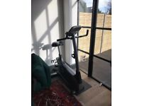 Great exercise bike & protective mat