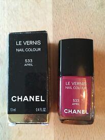 Chanel nail polish. April. 533