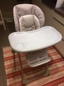 Chicco high chair (polly)