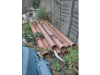 Drainage pipes, Putney, London SW15