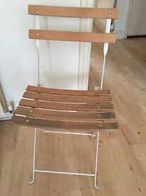 Chairs for the garden or the kitchen from HABITAT ( lot of 6 pieces)