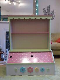 Vertbaudet Childrens Bookcase/Toy Storage