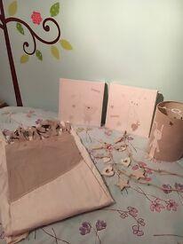 Mamas and Papas 'Millie & Boris' Nursery Accessories