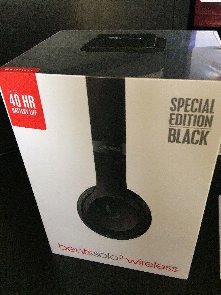 BRAND NEW Beats Solo3 Wireless On-Ear Headphones