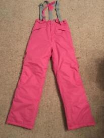 Kids winter snow trousers/suit