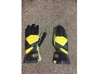 Women's Held motorcycle gloves size small leather