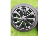 Genuine Audi S-line 18inch alloys alloy wheels and tyres
