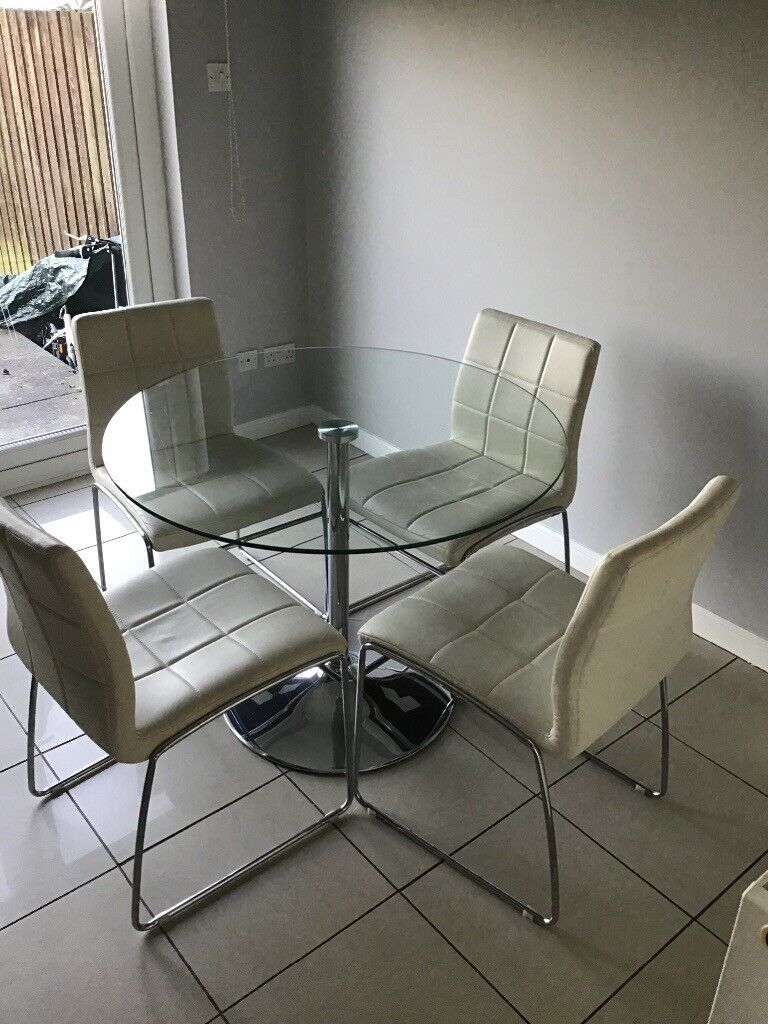 Kitchen Table and Chairs   in Glasgow   Gumtree