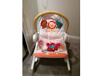 Fisher Price 3-in-1 Baby swing and rocker