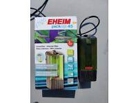 Glass 24 litre tank & EHEIM filter
