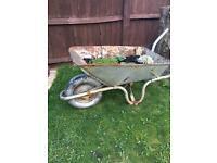 Garden plant wheelbarrow