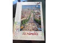Barcelona jigsaw