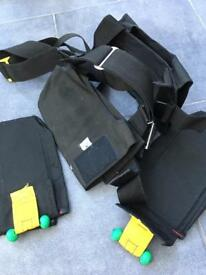 Diving weight harness