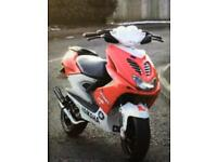 Yamaha Aerox moped