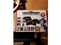 classic mega drive game console