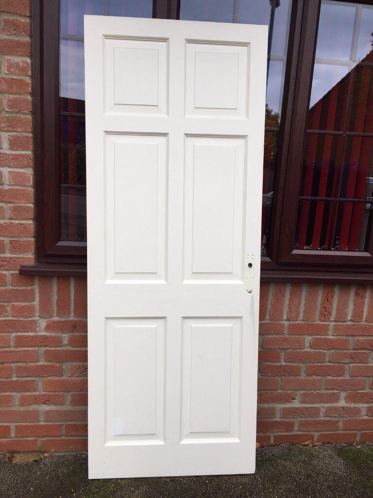 6 x Solid Internal Panel Doors