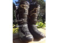 Alpinestars Vector boots uk10.5/eu45