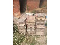 220 Marley concrete roof tiles - free