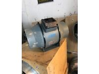 """Cheshunt Hydroponics Store - used Ram 6"""" mixed flow inline fan"""