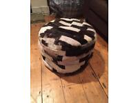 FREE stylish foot stool/pouf