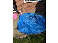 Round tarp