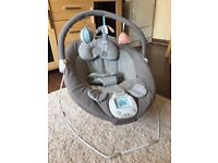Mamas and papas musical vibrating baby bouncer excellent condition