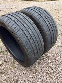 Run flat tyres 224 / 40z R18