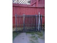 8 wrought iron railings for sale