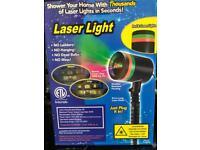 Outside Laser Light