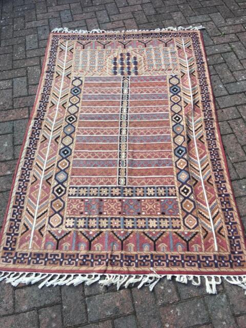 Patterned Crewel Work Rug In Yate Bristol Gumtree