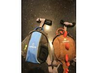 Two Little Life reins harness back pack