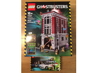 Lego Ghostbusters Firehouse HQ 75827 & Ecto 1 21108 - Brand new and sealed