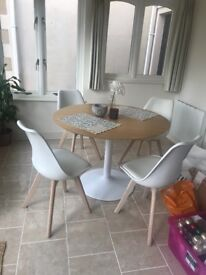 Habitat Table and Chairs