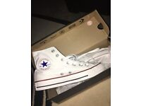 Converse white new 4.5 unwanted gift