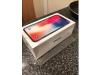 Iphone x 64gb factory unlocked in grey like NEW. £50 of extras.