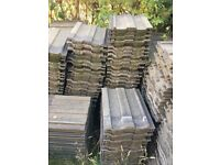 Approx 800 Marley Ludlow roof tiles
